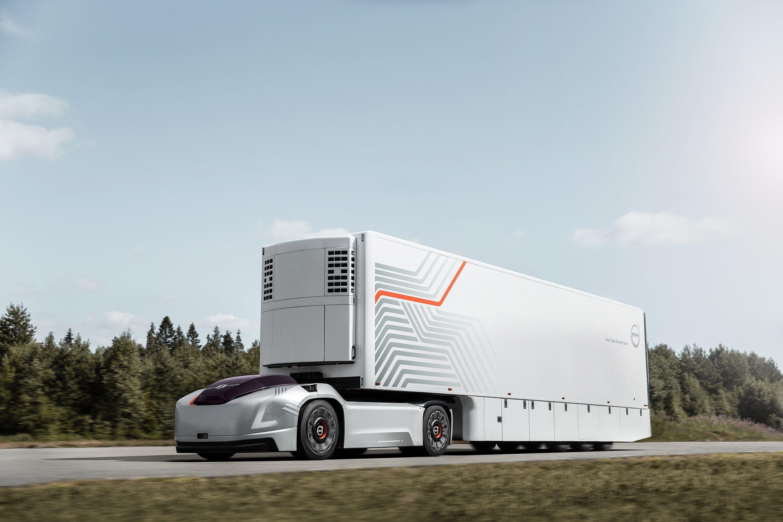 Volvo Vera autonomous truck prototype