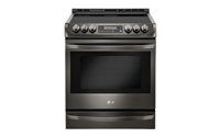 LG Electric Induction Side-In Range with ProBake Convection and EasyClean