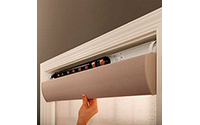 Serena Motorized Shades by Lutron with Caseta Wireless bridge