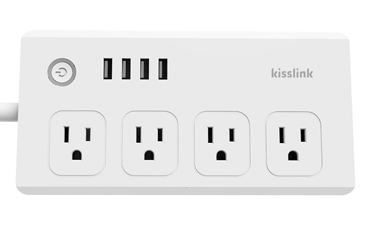 kisslink 4 outlets powerstrip